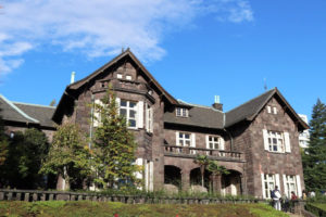 石造りの洋館(大谷美術館)の写真