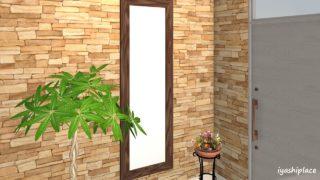 玄関の鏡の位置